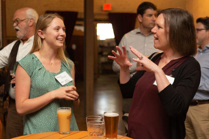 Women at CEEM networking event