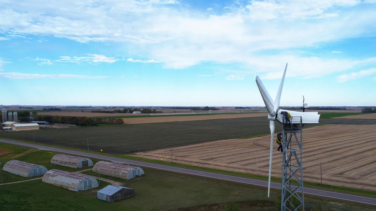 mnwest wind turbine