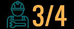 3 in 4 clean energy workers work in energy efficiency