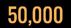 50,000 icon