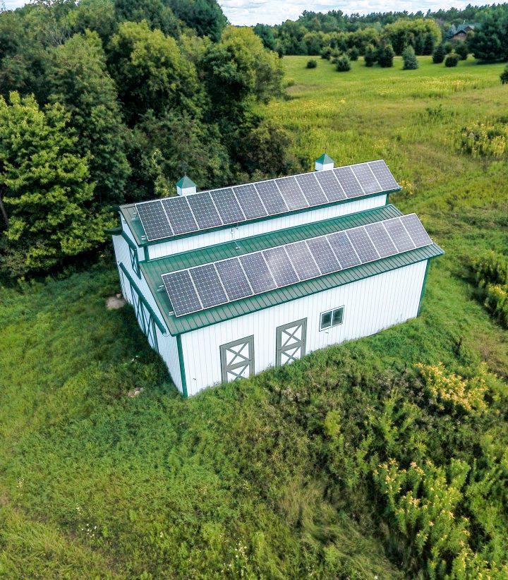 All Energy Solar Rooftop Barn