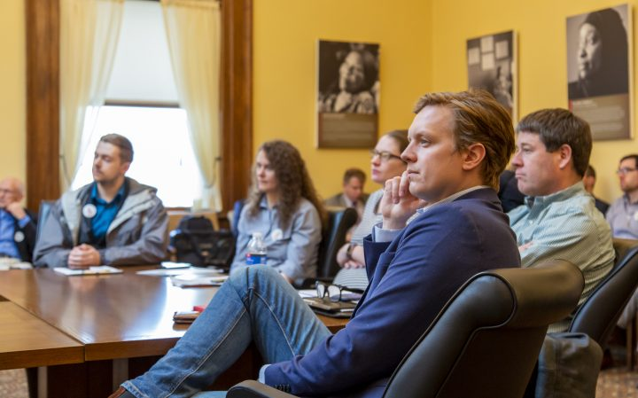 CEEM Members at Minnesota State Capitol