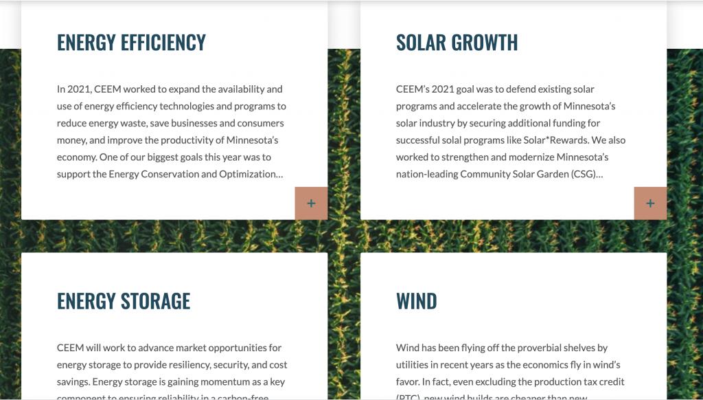 CEEM's policy focus areas