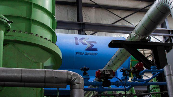 Inside a Koda Energy facility