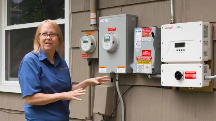 Donna Pickard explains how solar works